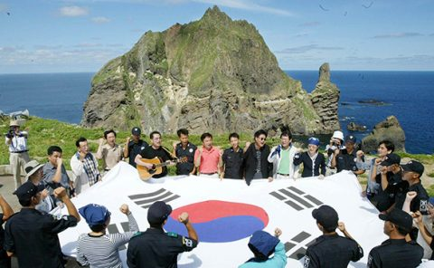 1,200 foreigners 'living on Dokdo'