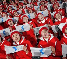 North Korea keeps controversial flag showing Dokdo islets