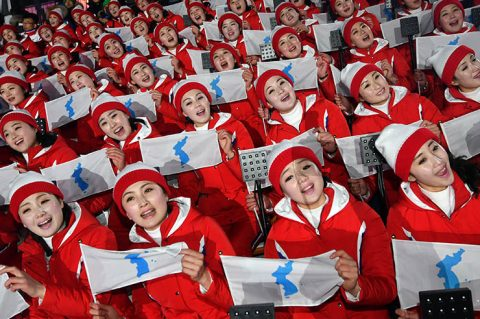 North Korea keeps controversial flag showing Dokdo islets